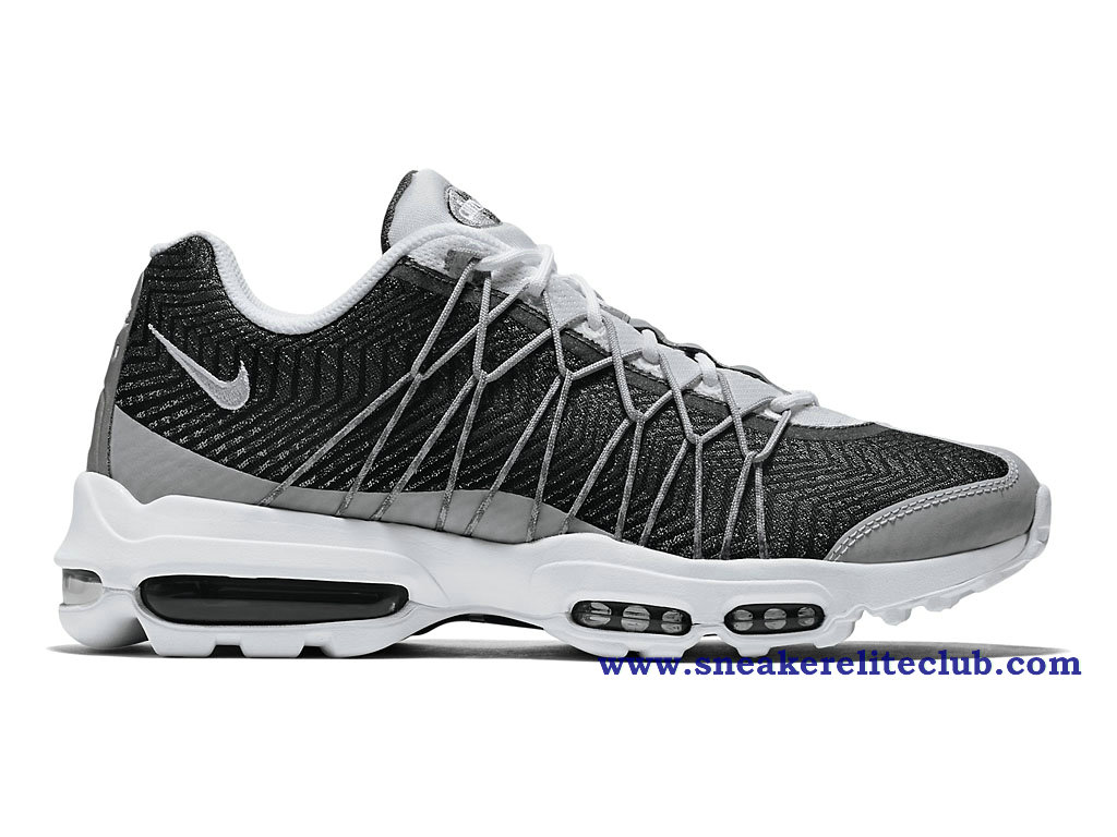 4c2e73209c216 Home → Women Club → Nike Air Max 95 GS → Nike Air Max 95 Ultra Jacquard GS  BasketBall Shoes For Women´s Gray/Black/White