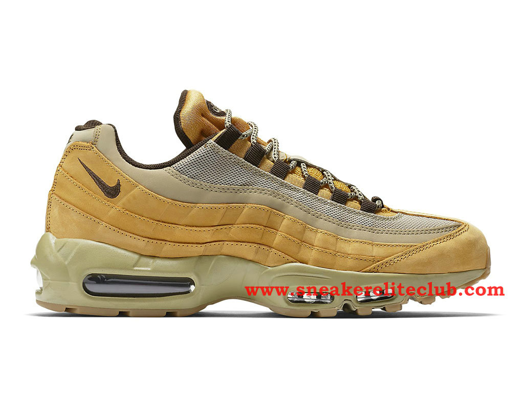 Chaussure De BasketBall Homme Nike Air Max 95 Wheat 538416_700