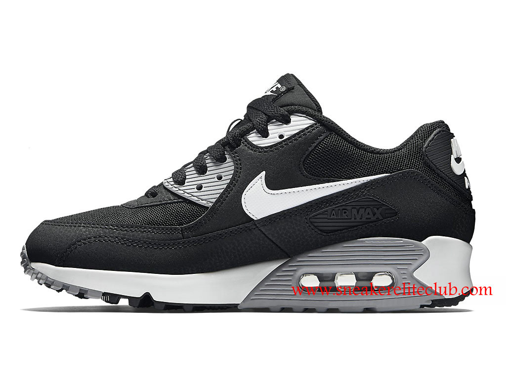 chaussure femme nike air max 90 essential pas cher noir blanc 616730 012 1601031589 chaussure. Black Bedroom Furniture Sets. Home Design Ideas