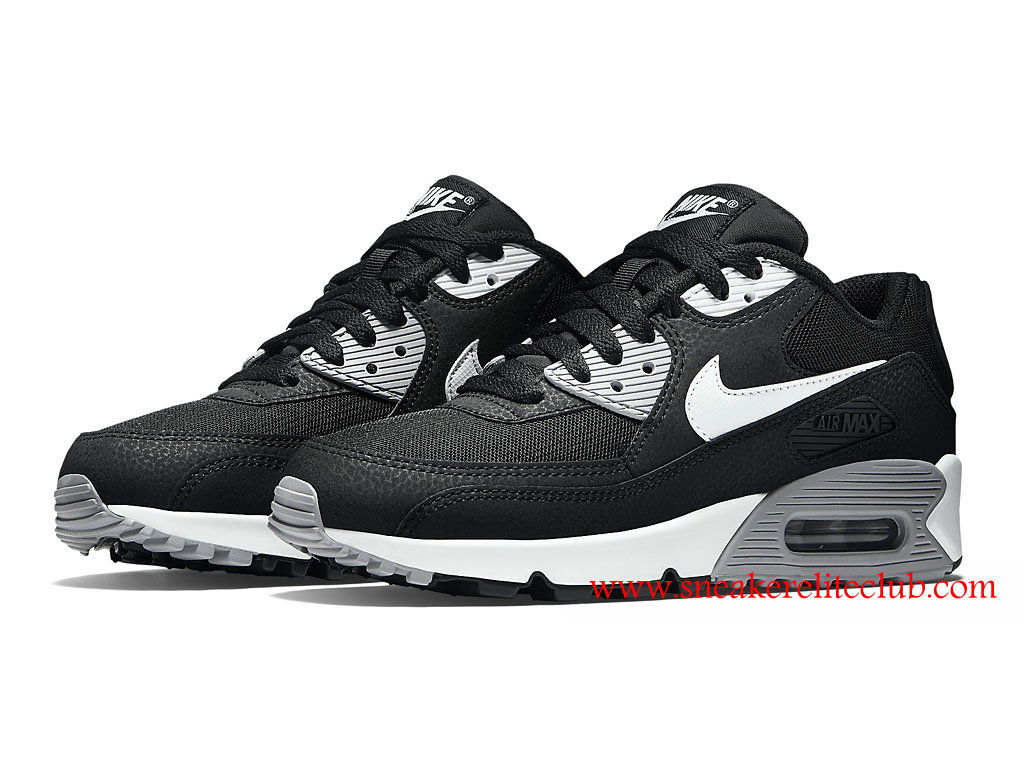 new concept 596d7 ad97e Nike Air Max 90 Essential Cheap Women´s Shoes Black/White 616730-012 ...