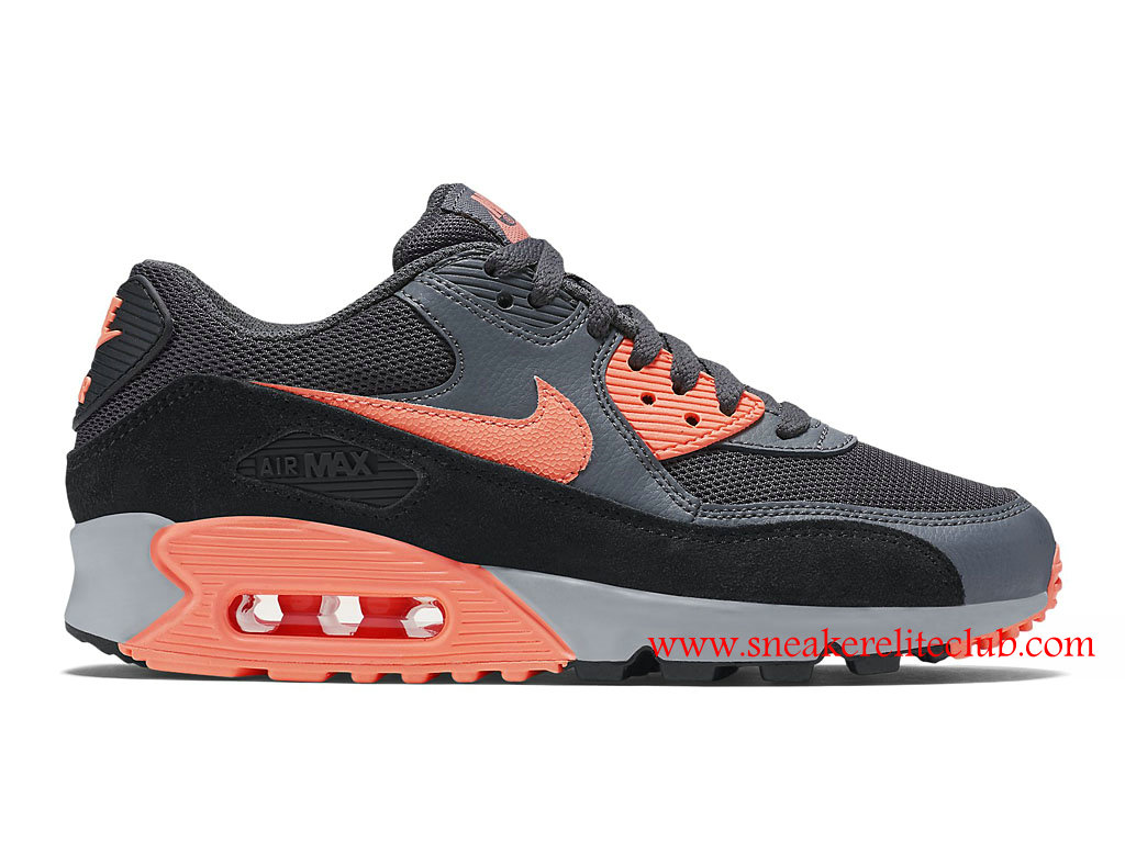 nike air max 90 essential gris rose femmes chaussure. Black Bedroom Furniture Sets. Home Design Ideas
