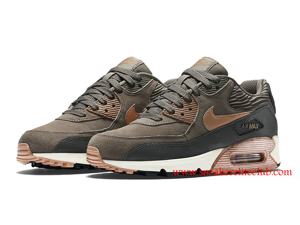 f3f203cb0aa ... Nike Air Max 90 Cheap Women´s Shoes Metallic Red Bronze 768887 201 ...