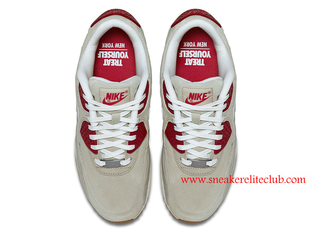 huge selection of 68e55 e9a7a ... netherlands nike air max 90 qs cheap womens shoes gray beige red 813150  d955e dc472