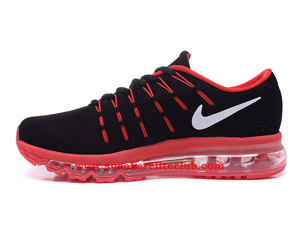 chaussure homme nike air max 2016 pas cher noir rouge blanc 806771 a001 1512161229 chaussure. Black Bedroom Furniture Sets. Home Design Ideas