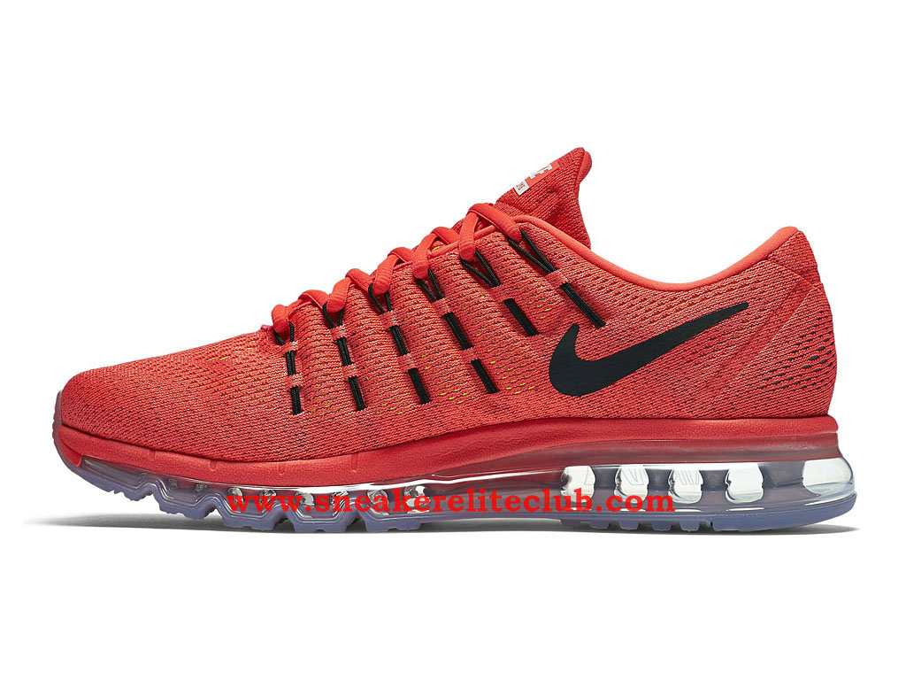 Chaussure Homme Nike Air Max 2016 Pas Cher Rouge/Noir 806771_600