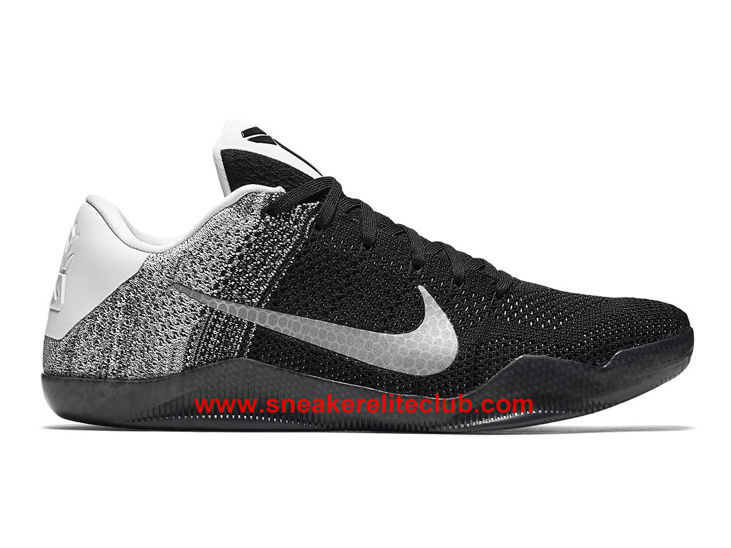 chaussure nike kobe 11 last emperor pas cher pour homme noir blanc. Black Bedroom Furniture Sets. Home Design Ideas