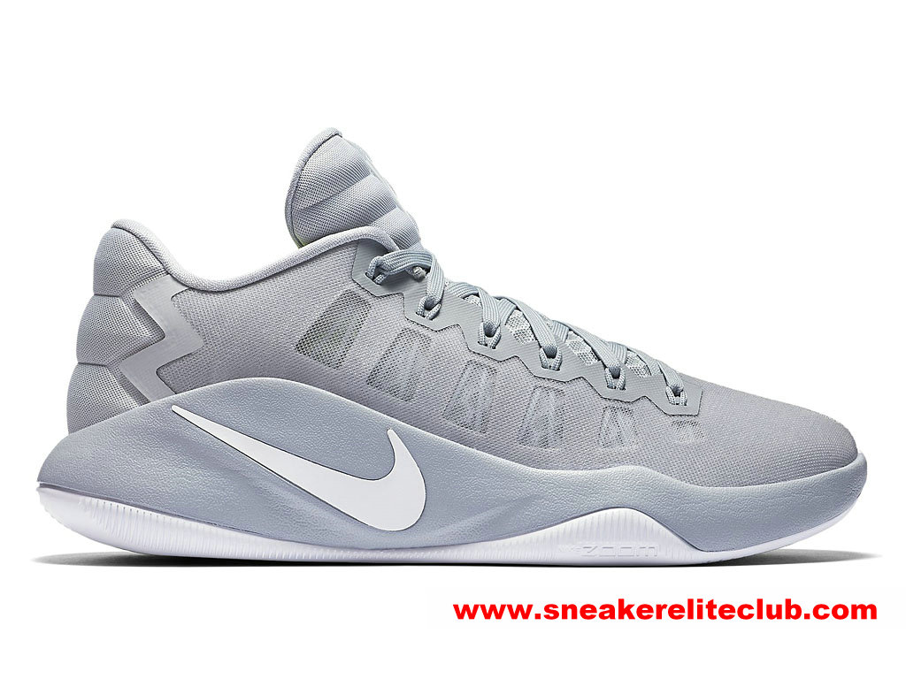 Chaussures BasketBall Homme Nike Hyperdunk 2016 Low Prix Pas Cher Gris 844363_010