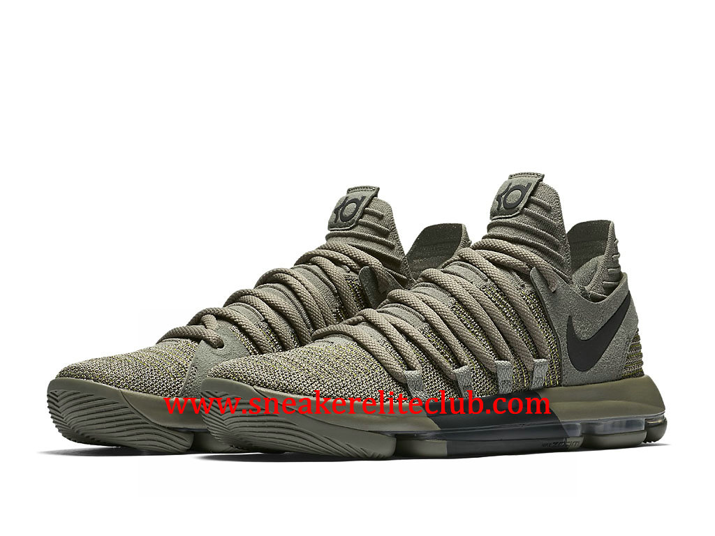 Chaussures BasketBall Homme Nike KD 10 Veterans Day Pas Cher Prix Dark stucco/Anthracite 897817_002