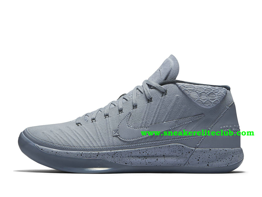 Chaussures BasketBall Homme Nike Kobe A.D. Mid Detached Pas Cher Prix Gris 922482_002