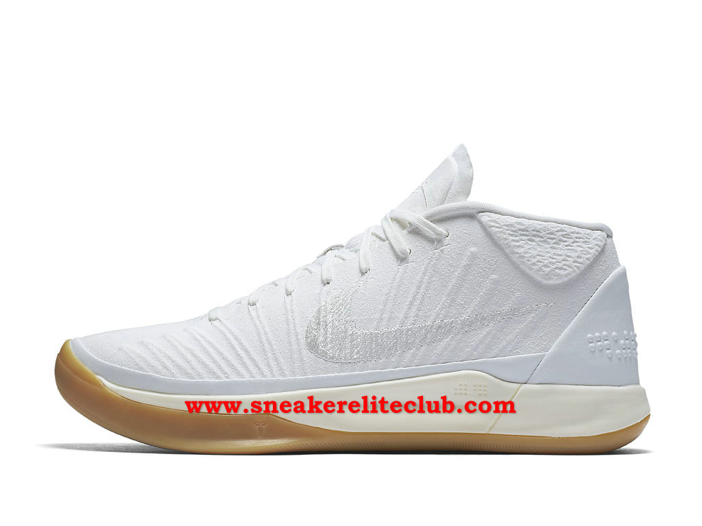 Chaussures BasketBall Homme Nike Kobe A.D. Pas Cher Prix Blanc 922482_101