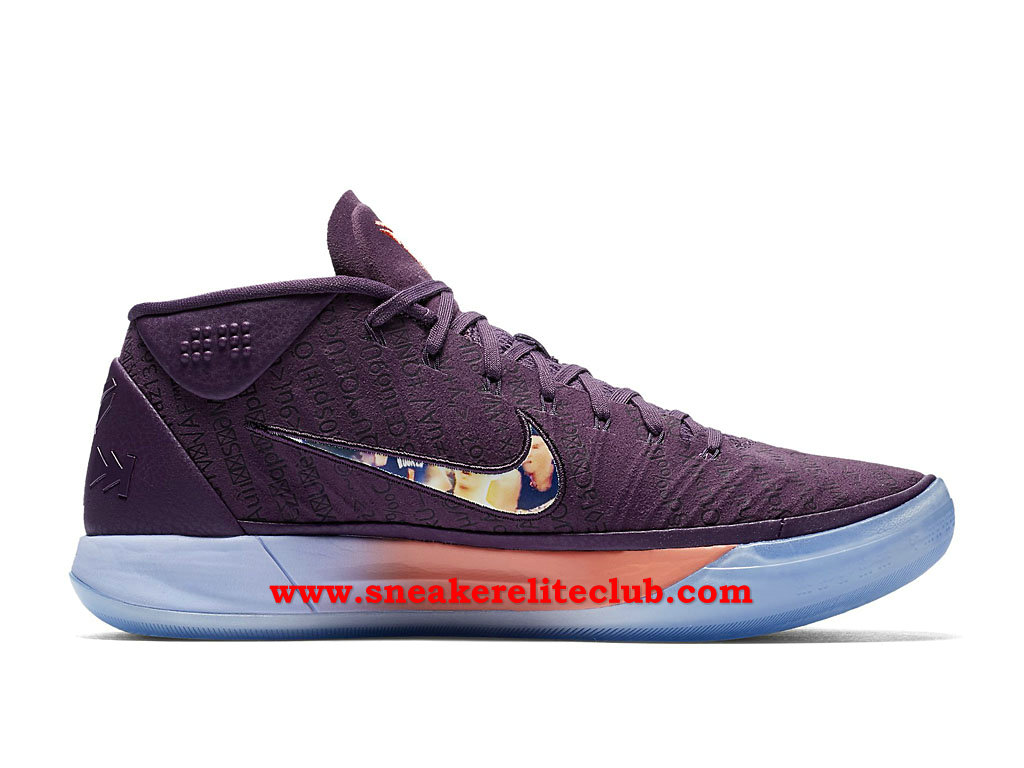 Chaussures BasketBall Homme Nike Kobe A.D. Pas Cher Prix Devin Booker PE Pourpre AQ2721_500