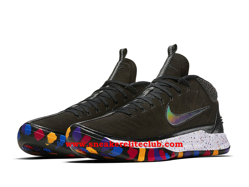 Chaussures BasketBall Homme Nike Kobe A.D. Pas Cher Prix March Madness Noir/Blanc/Argent AJ6922_001