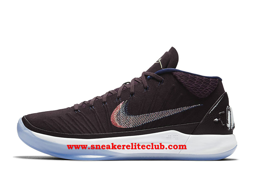 Chaussures BasketBall Homme Nike Kobe A.D. Pas Cher Prix Port Wine Brun Blanc 922482_602