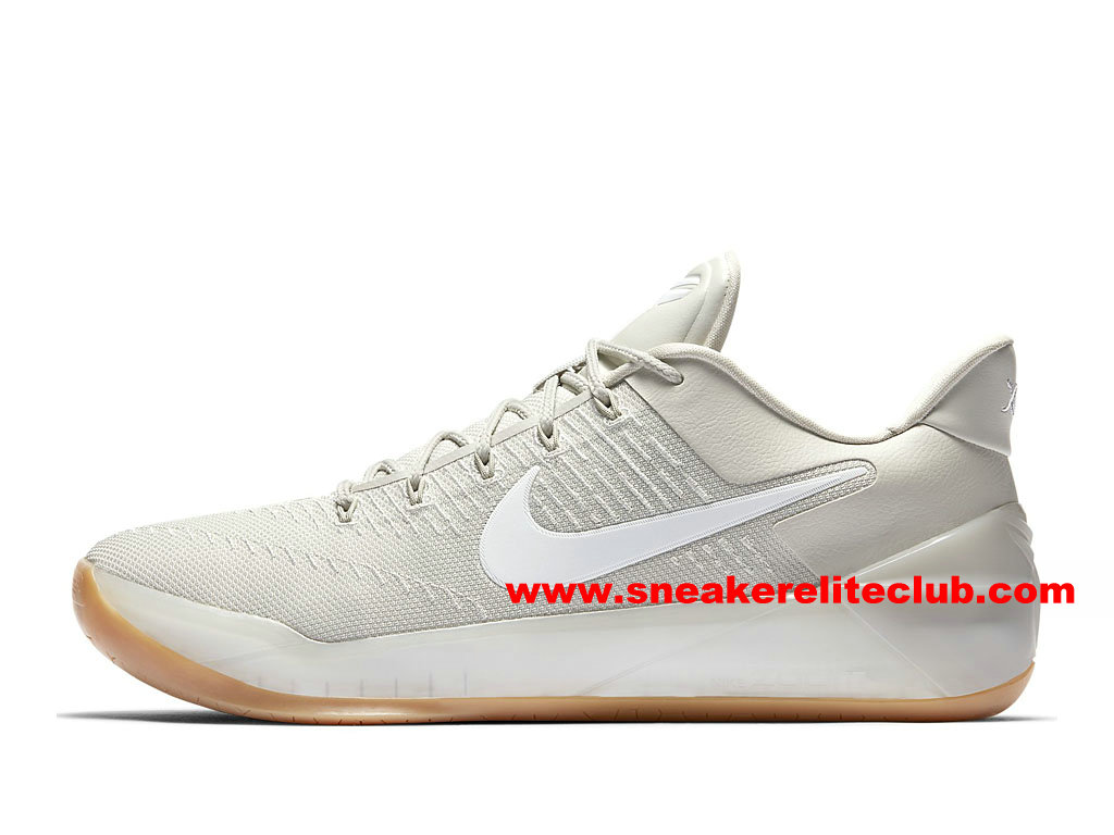 Chaussures BasketBall Homme Nike Kobe A.D. Prix Pas Cher Beige/Blanc 852425-011
