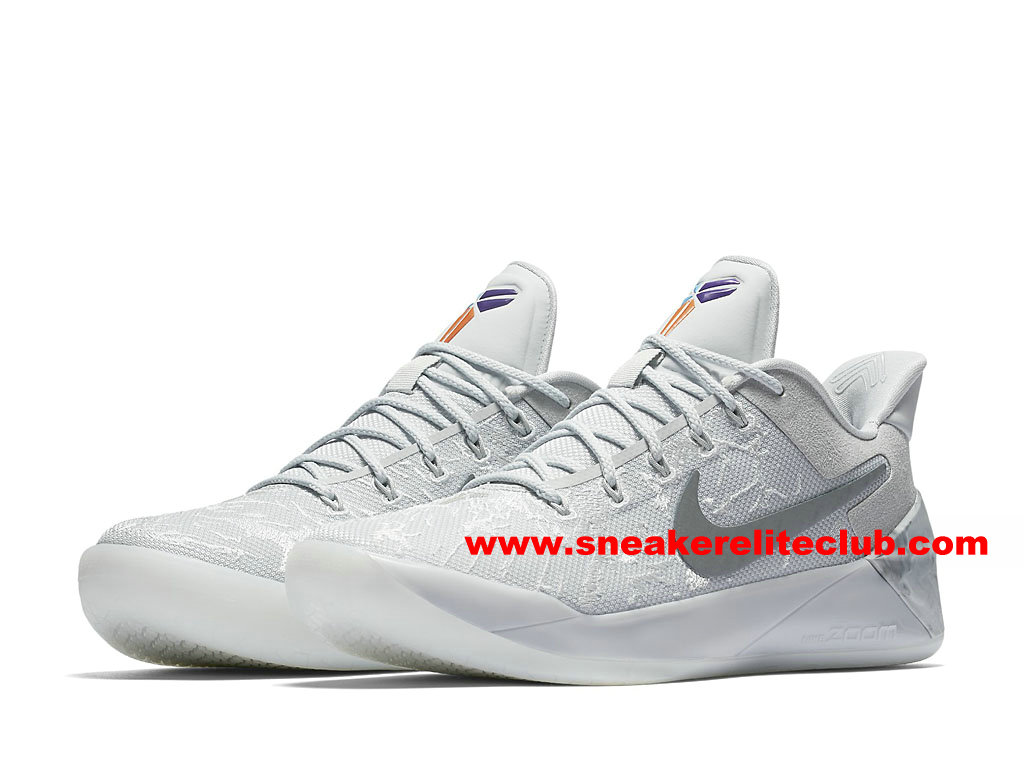 Chaussures BasketBall Homme Nike Kobe A.D. Prix Pas Cher Gris/Blanc 942301_900