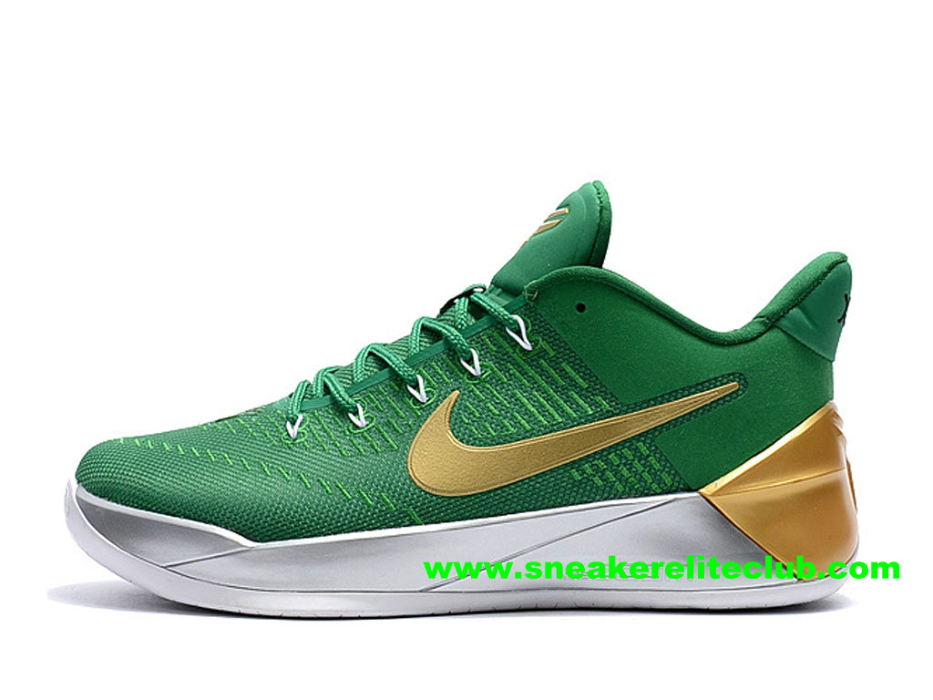 decbd919a6f1 Home → BasketBall Club → Nike Kobe AD → Men´s BasketBall Shoes Nike Kobe AD  Price Cheap Green Gold Grey 852427 A103