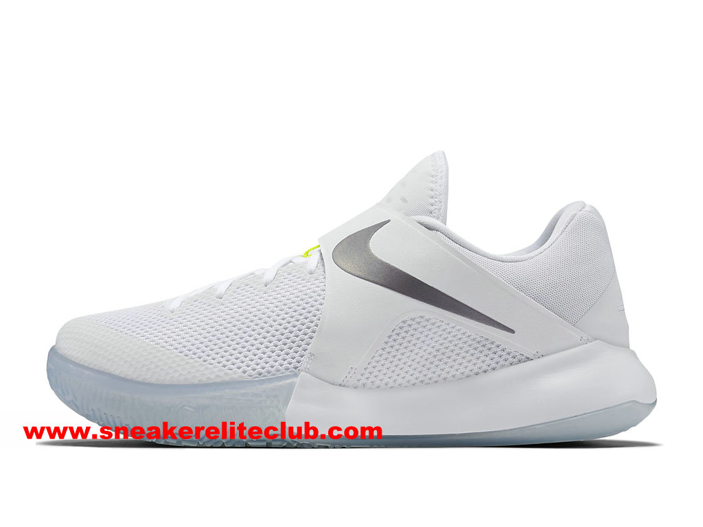 Chaussures BasketBall Homme Nike Zoom Live 2017 EP Prix Pas Cher Blanc 852420_117