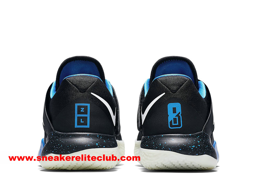 Chaussures BasketBall Homme Nike Zoom Live 2017 EP Prix Pas Cher Noir/Blanc/Bleu 911090_014