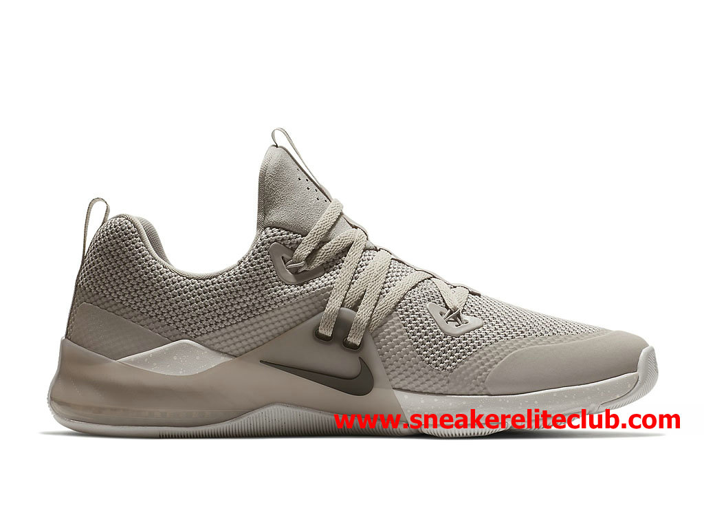 Chaussures BasketBall Homme Nike Zoom Train Command Prix Pas Cher Beige Blanc 922478_006