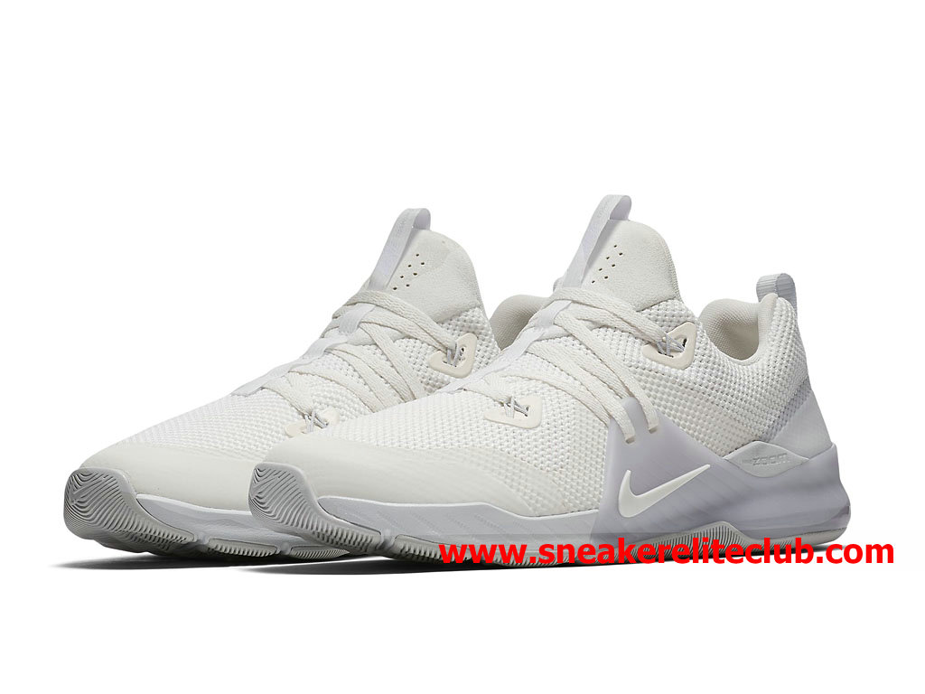 Chaussures BasketBall Homme Nike Zoom Train Command Prix Pas Cher Blanc 922478_100