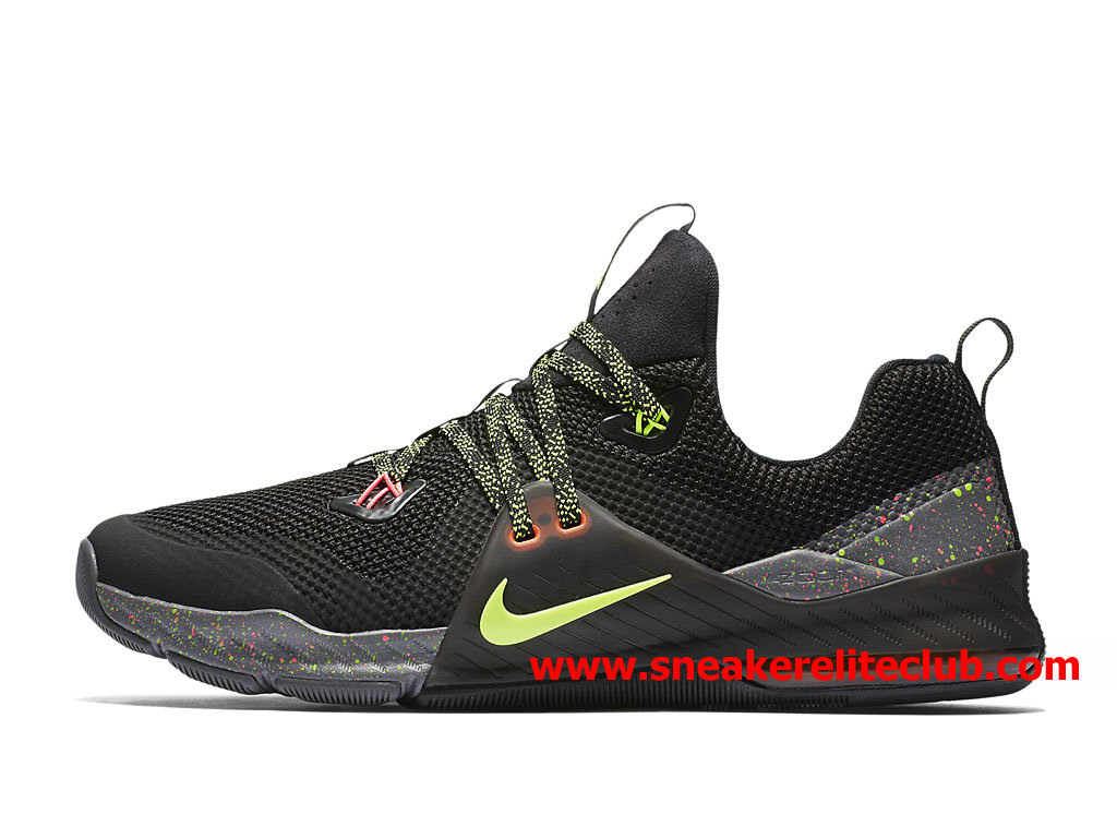 Chaussures BasketBall Homme Nike Zoom Train Command Prix Pas Cher Noir Olive Vert 922478_002