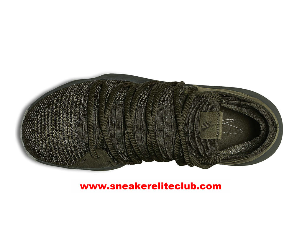 Chaussures De BasketBall Homme Nike KD 10 Finals PE Prix Pas Cher Olive Green 943298_900