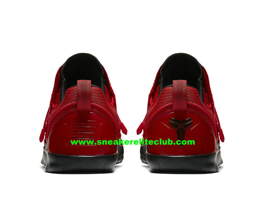 Chaussures De BasketBall Homme Nike Kobe AD NXT Prix Pas Cher Rouge Noir 882049_600