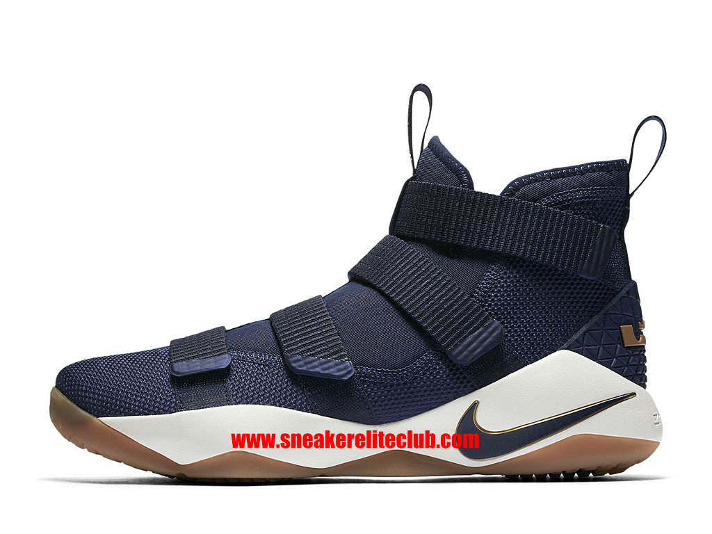 ee9c6b10f49 ... nike lebron soldier 11 price cheap men´s basketball shoes midnight navy  metallic gold