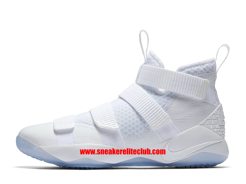fd5dceb2537 Nike LeBron Soldier 11 Price Cheap Men´s BasketBall Shoes White 897644 103