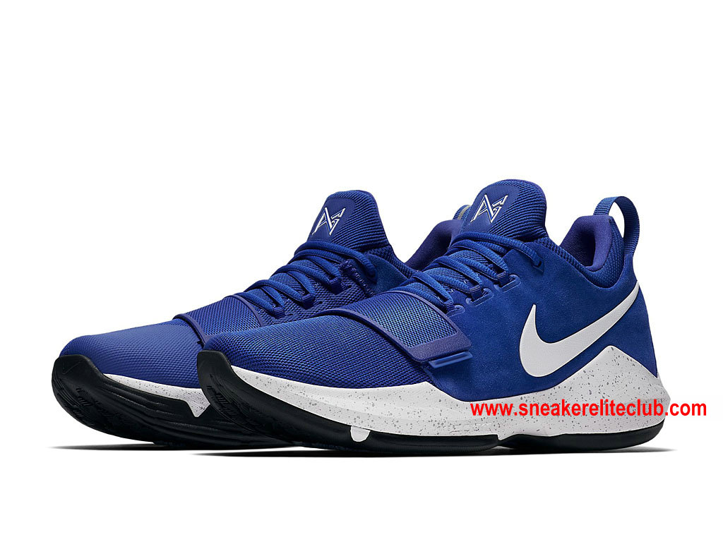 on sale b2a19 56a32 Men´s BasketBall Shoes Nike PG 1 Price Cheap Blue/White 878628_400