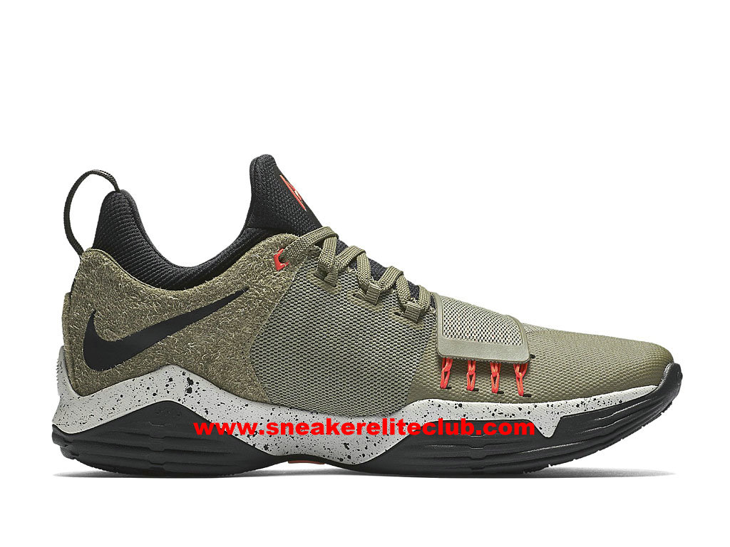huge discount e4ba5 6ee31 Men´s BasketBall Shoes Nike PG 1 Cheap Price Olive Green Black 911085_200