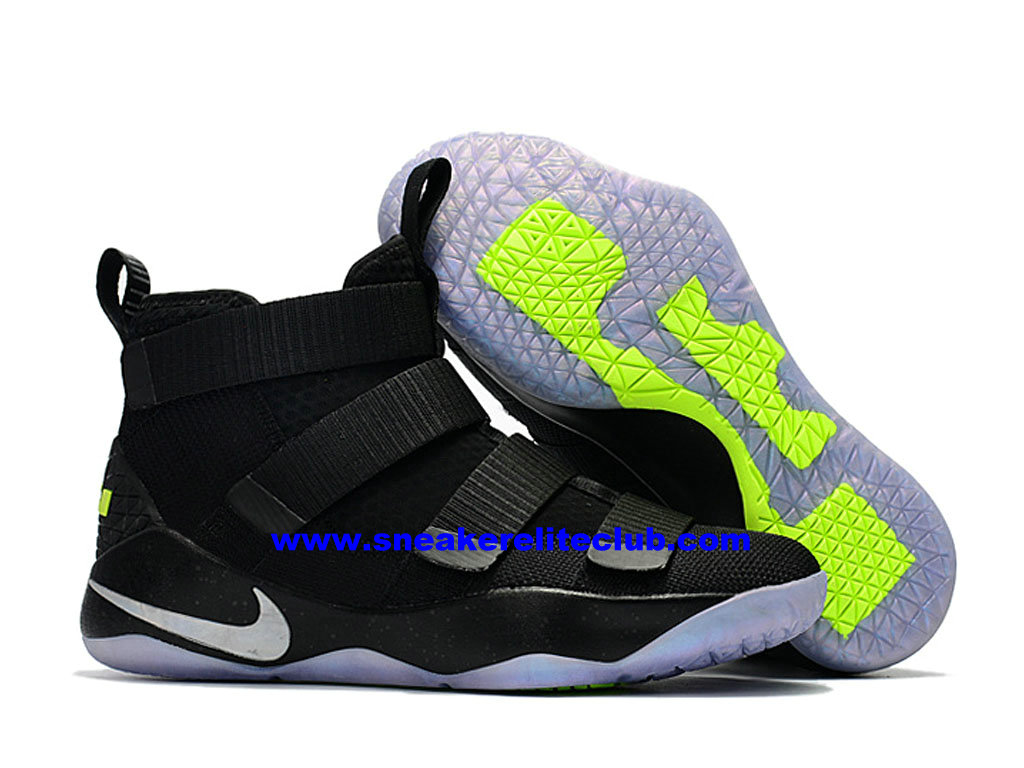 538f975b531 ... Men´s Basketball Shoes Nike Zoom LeBron Soldier 11 Price Cheap Official  Black White ...