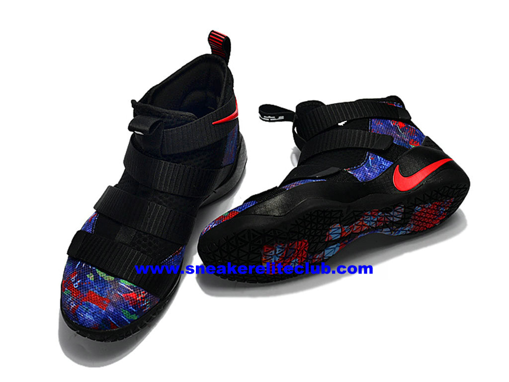 info for 65f95 5e7fb ... Men´s Basketball Shoes Nike Zoom LeBron Soldier 11 Price Cheap Official  Black/Blue ...