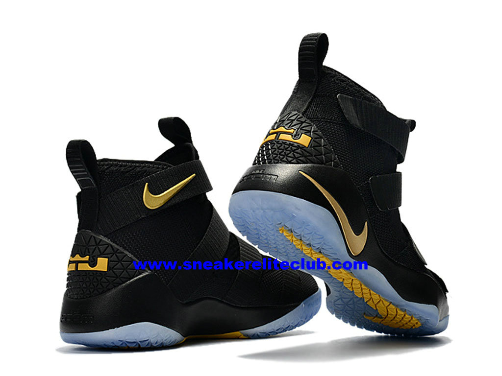dd01fb5245508 ... Men´s Basketball Shoes Nike Zoom LeBron Soldier 11 Price Cheap Official  Black Gold