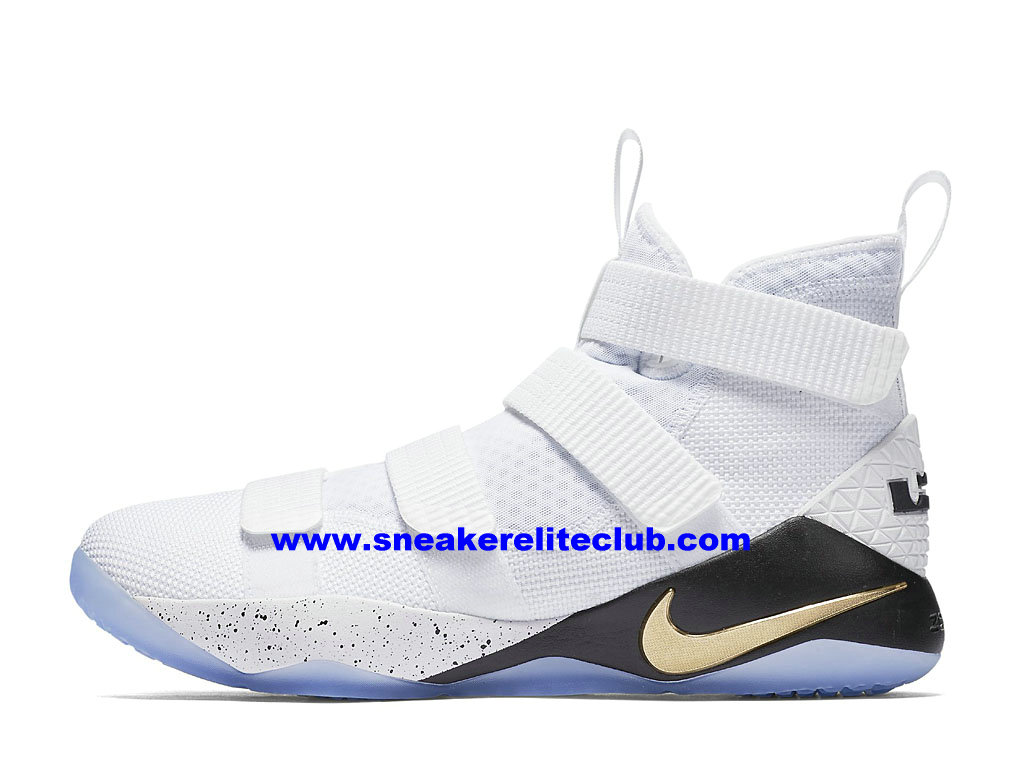 750cf6029cd Men´s Basketball Shoes Nike Zoom LeBron Soldier 11 Price Cheap Official  White Black ...