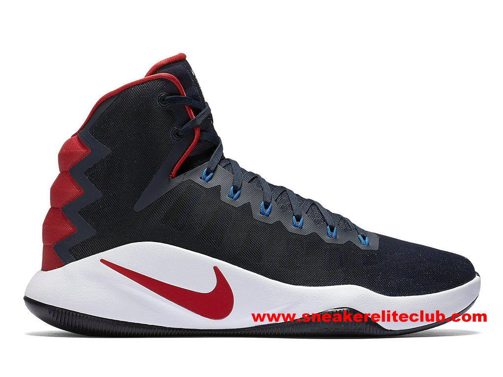 chaussures de basketball nike hyperdunk 2016 prix homme pas cher bleu rouge blanc 844359 446. Black Bedroom Furniture Sets. Home Design Ideas