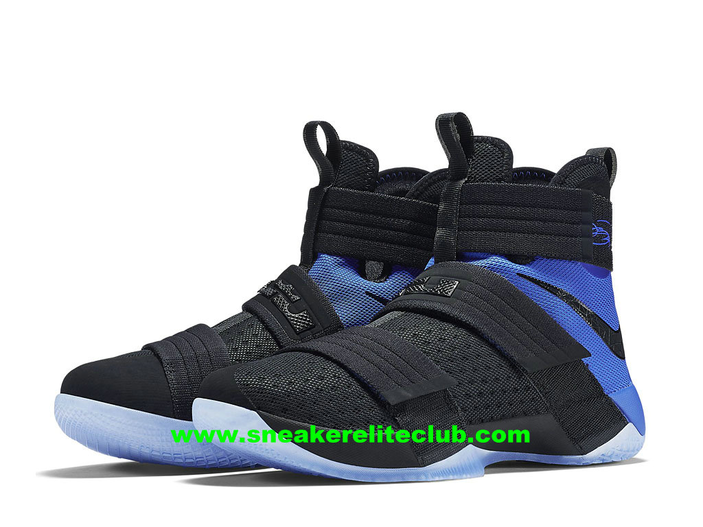 size 40 33e8d 2ee0d Nike Zoom LeBron Soldier 10 SFG EP Price Men´s Cheap BasketBall Shoes  Black/Blue 852419_004