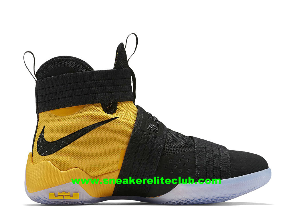 the best attitude f9790 0cbe3 Nike Zoom LeBron Soldier 10 SFG EP Price Men´s Cheap BasketBall Shoes  Black/Yellow 852419_007