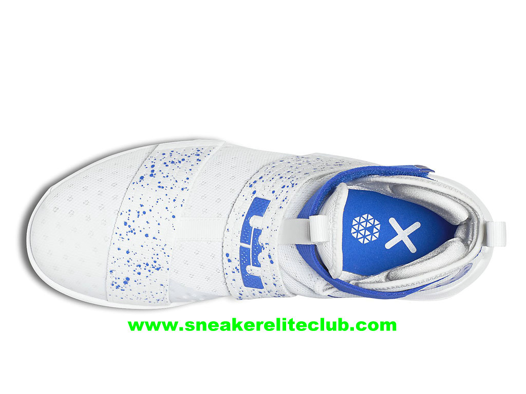 separation shoes 09cc4 621df Nike Zoom LeBron Soldier 10 Price Men´s Cheap BasketBall Shoes White/Blue  844374_164