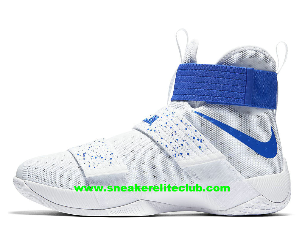 separation shoes ae5a2 3cb79 Nike Zoom LeBron Soldier 10 Price Men´s Cheap BasketBall Shoes White/Blue  844374_164