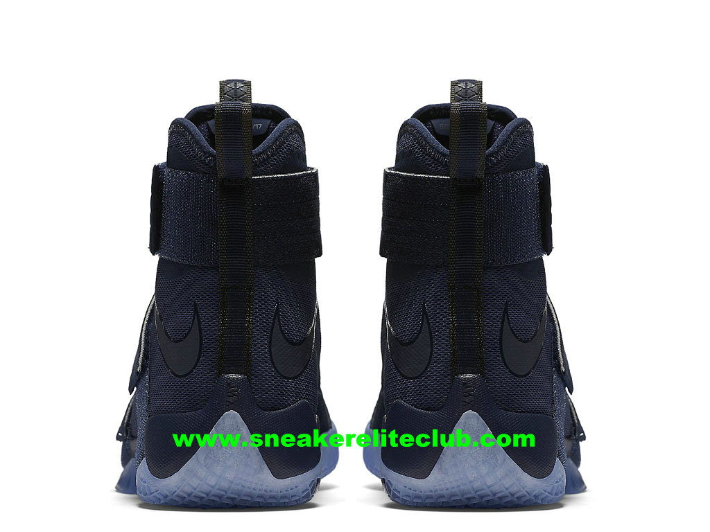 quality design c1565 dd23e ... Nike Zoom LeBron Soldier 10 Price Men´s Cheap BasketBall Shoes Midnight  Navy 844378 444 ...