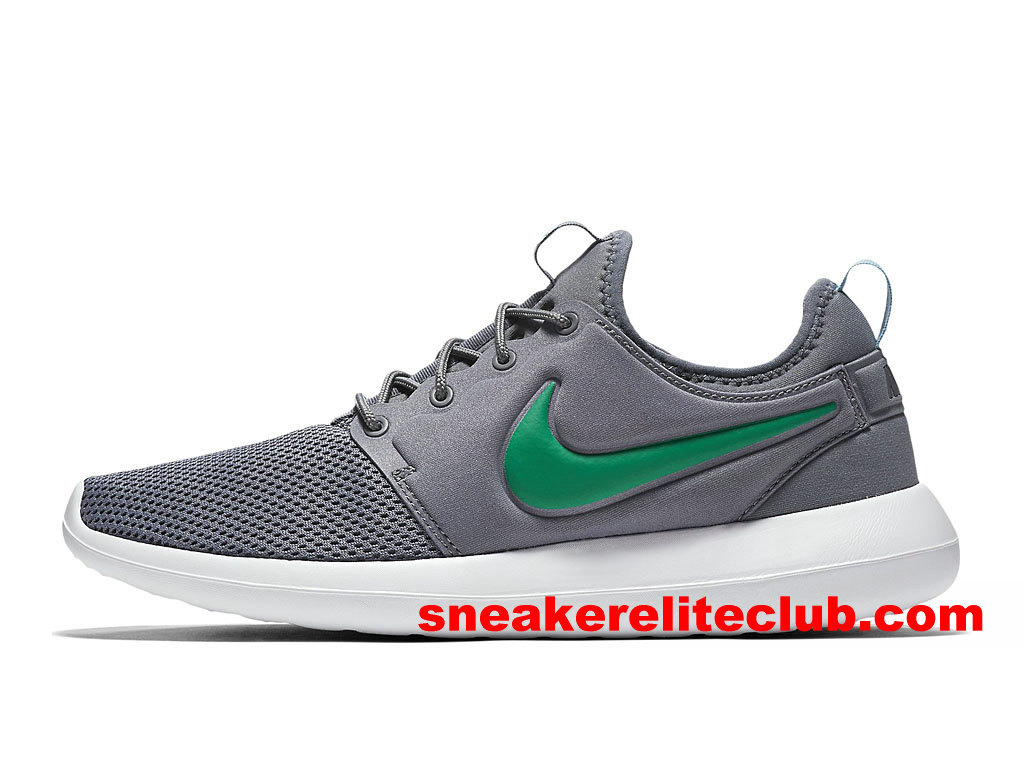 chaussures de course homme nike roshe two prix pas cher gris vert 844656 006 1705112990. Black Bedroom Furniture Sets. Home Design Ideas