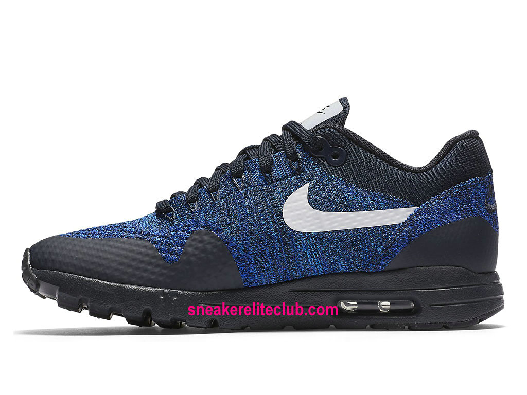 new styles b3f09 5f821 ... Nike Air Max 1 Ultra Flyknit Price Women´s Running Shoes Cheap  BlueBlack ...