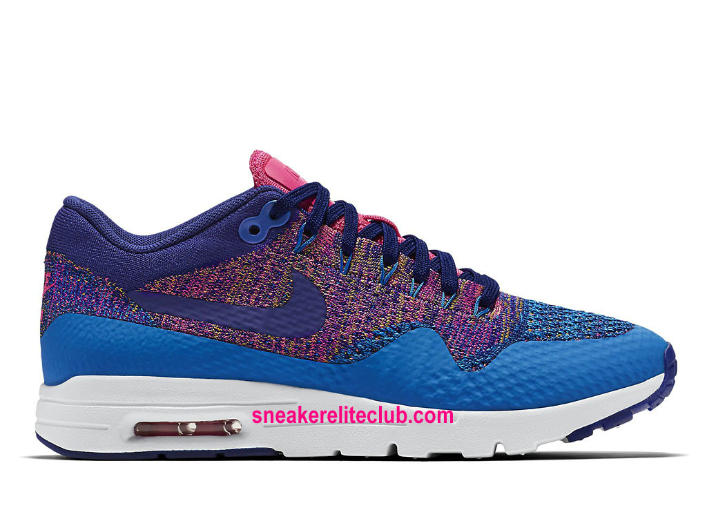 Nike Air Max 1 Ultra Flyknit Price Women´s Running Shoes Cheap Photo Blue/