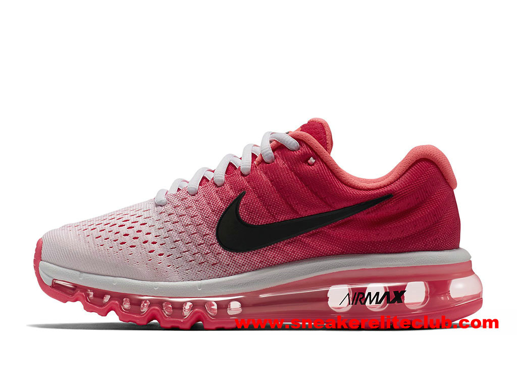 chaussures de running femme nike air max 2017 sneaker elite club prix pas cher rouge noir blanc. Black Bedroom Furniture Sets. Home Design Ideas