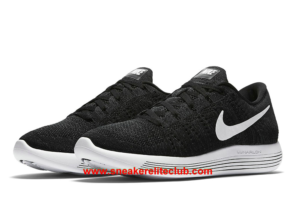quality design 2a310 417fc ... Nike LunarEpic Low Flyknit Price Cheap Men´s Running Shoes Black White  ...