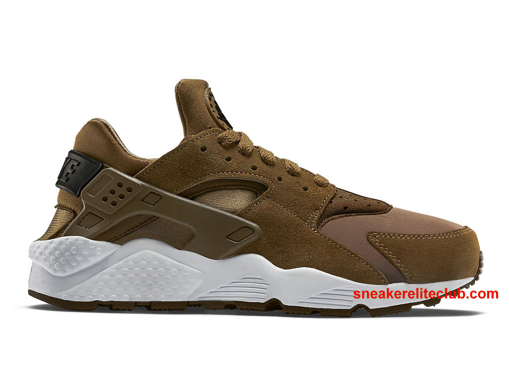 Chaussures De Running Nike Air Huarache Prix Pas Cher Pour Homme Umber/Black-White 318429_301