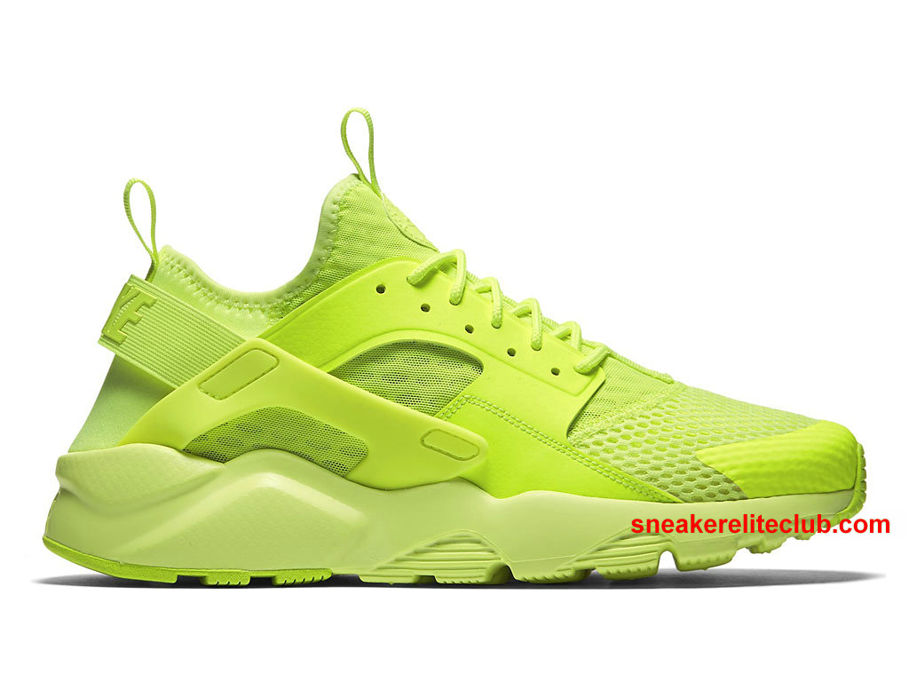 Nike Air Huarache Run Ultra Breathe Prix Cheap Men S Running Shoes Green 833147 700