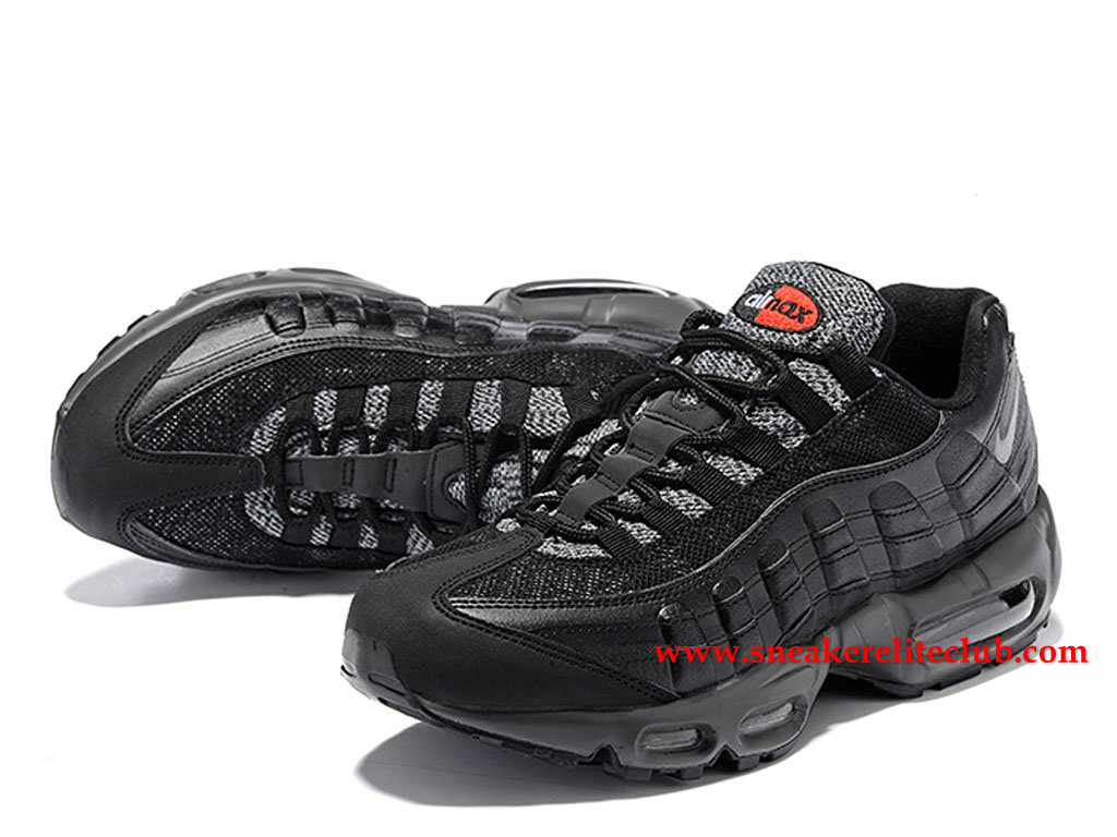finest selection 4cc64 18a54 ... Nike Air Max 95 Essential Price Men´s Cheap Running Shoes Black Grey  749766 ...