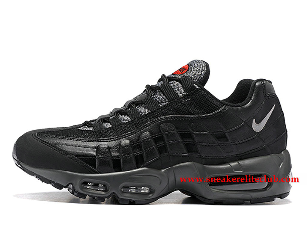 timeless design 8af55 f45e2 Nike Air Max 95 Essential Price Men´s Cheap Running Shoes Black Grey 749766  ...